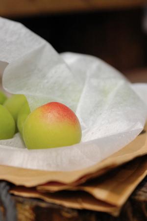 熟した梅の実