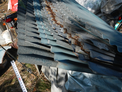 軒の修理のつづき