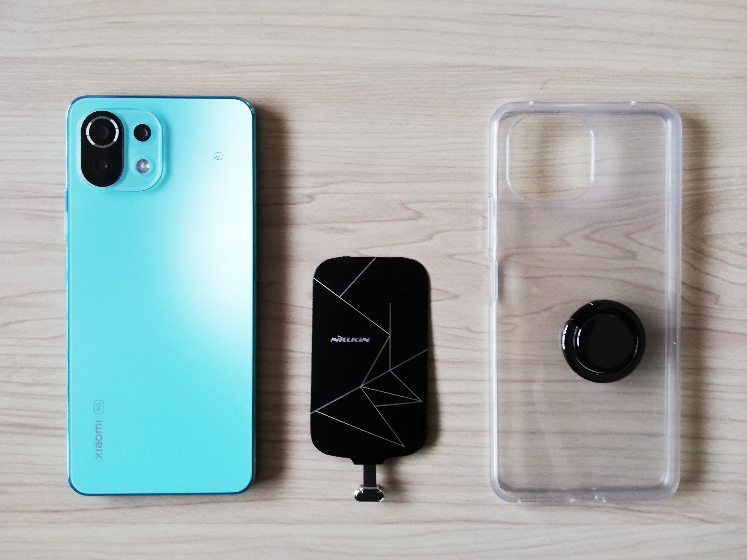 Xiaomi Mi 11 Lite 5GをQi対応に!